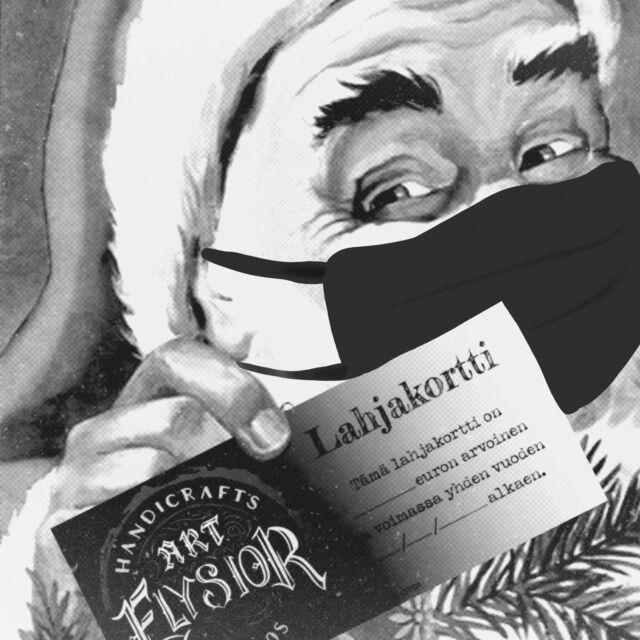 Joko se on taas joulukuu?  Tänä vuonna lahjakortin saa ostettua myös kotisohvalta käsin sähköpostitse pdf-tiedostona pukinkonttiin. Perinteiset lahjakortit saa edelleen ostettua studiolta, tulethan terveenä! 🎄🎅🏻  #lahjakortti #joululahja #joululahjakortti  #hyvääjoulua #2020 #tuepienyrittäjää #tatuointilahjakortti #tpartcollective #tattooparlour #artcollective #tatuointi #giftcard #hyvinkää