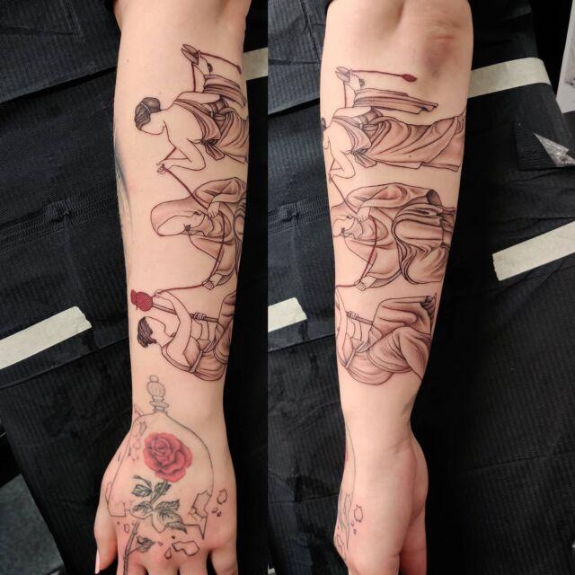 #kohtalottaret #artelysior #tattooparlour #artcollective #hyvinkää