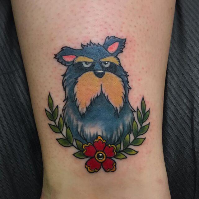#piisamirotta nilkassa! 😄 #moomintattoo #muumit #moomins #ink #colortattoo #inked #tattoo #tatuointi #hyvinkää