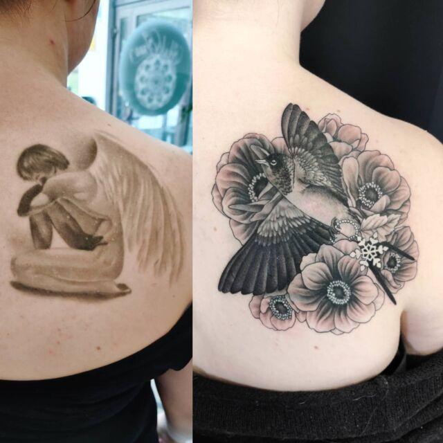 #peittokuva #tatuointi #artelysior #tattooparlour #artcollective #hyvinkää  #coveruptattoo #tpartcollective